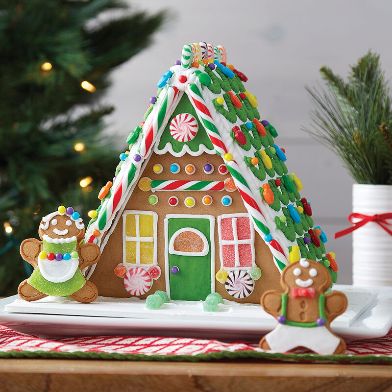 A Plus A-Frame Gingerbread House  image number 0