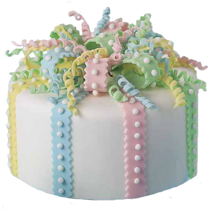 Curly Bow Cake