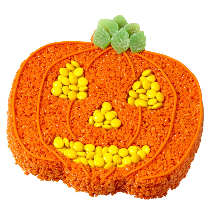 Spooky Jack Crisped Rice Cereal Treat image number 0