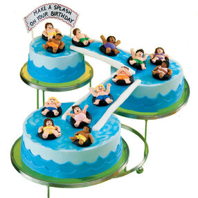 Big Splash Birthday Bash Cake