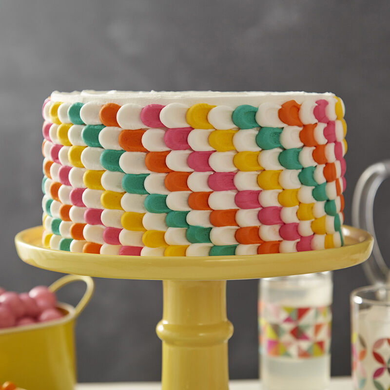 Pulled Dot Party Cake image number 0