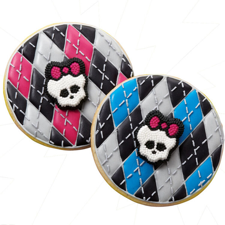 Monster High argyle Style Cookies