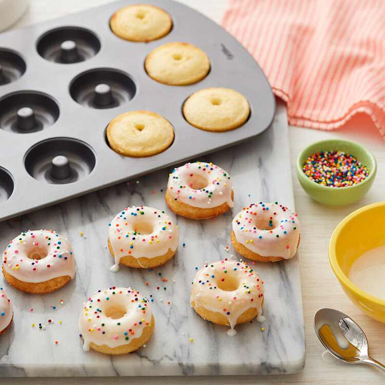 mini donuts with easy icing recipe
