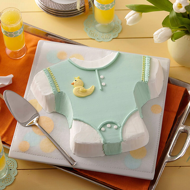 Baby Romper Ducky Cake image number 0