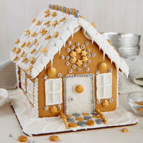 Shimmer-Sparkle Gingerbread House #1