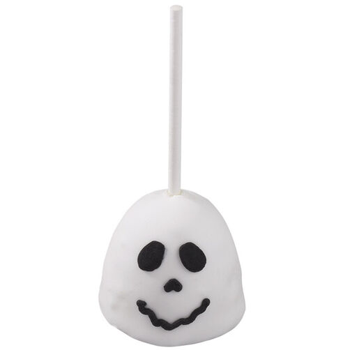 Good-Natured Ghost Brownie Pops
