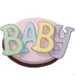 Sew Adorable Baby Cake