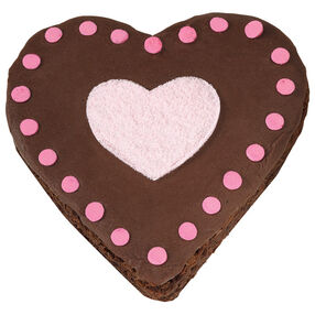 Heart Highlights Brownies