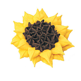 How to Pipe a Sunflower