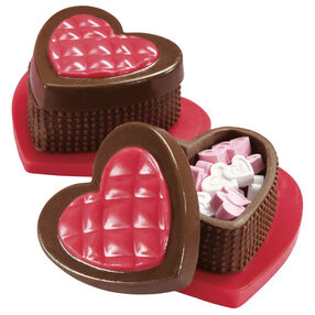 Edible Heart-Shaped Candy Box