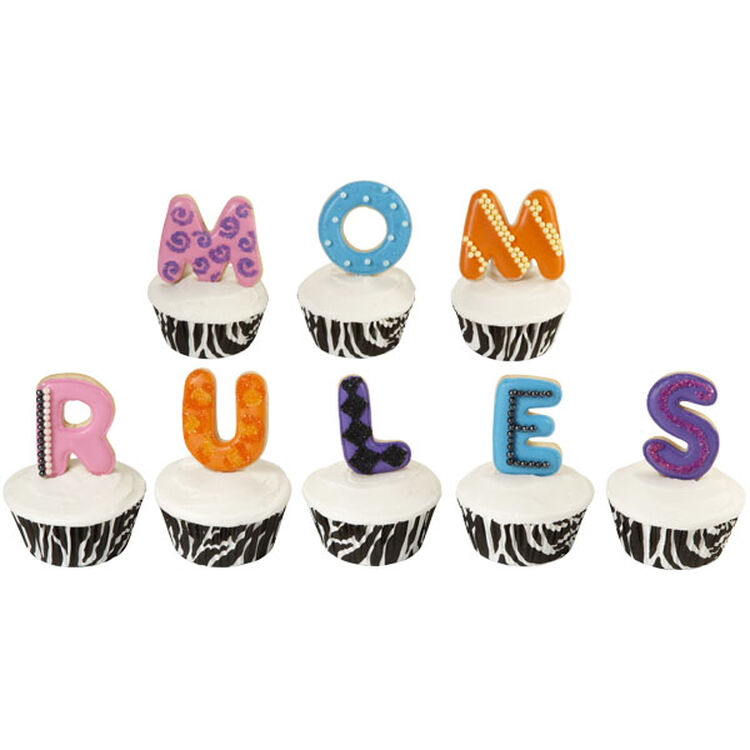 Mom Rules Cupcakes