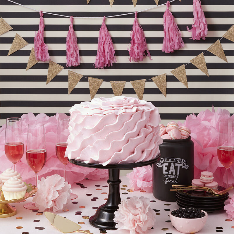 Pretty in Pink Adult Smash Cake image number 0