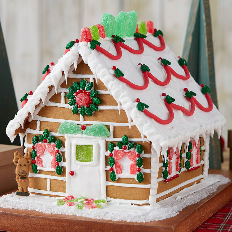 Nature Lover?s Gingerbread Cabin #1