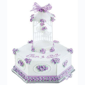 Romance Rings Out Cake