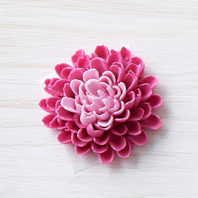 How to Pipe a Buttercream Dahlia Flower image number 0