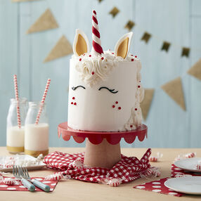 Magical Peppermint Unicorn Cake