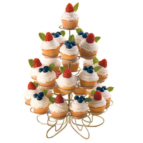 Fresh Fruit Mini Cupcakes