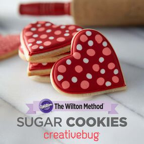 Wilton Sugar Cookies Class by Creativebug