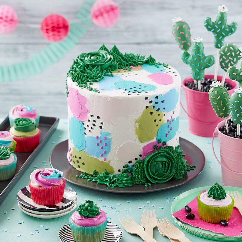 Sweet Succulent Cupcakes image number 3