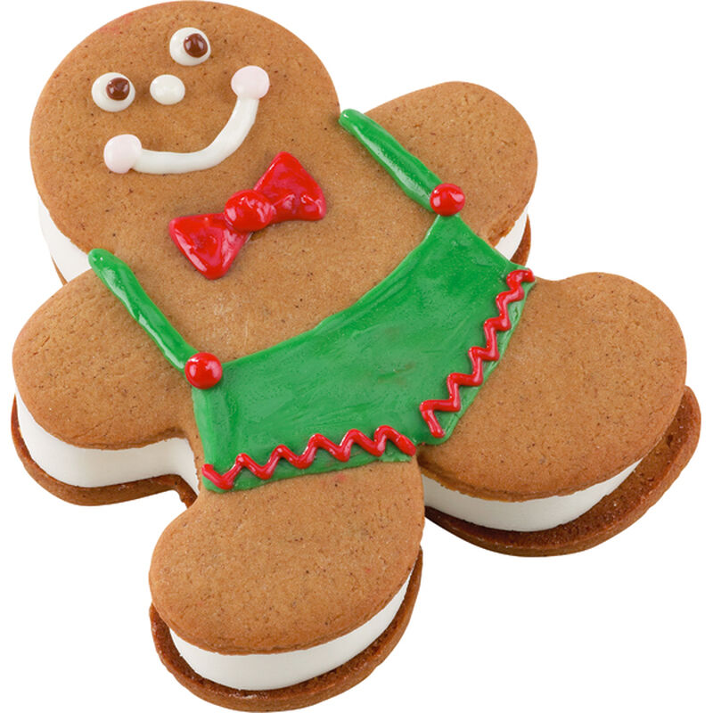 He's A Cool Fellow! Gingerbread Ice Cream Man image number 0