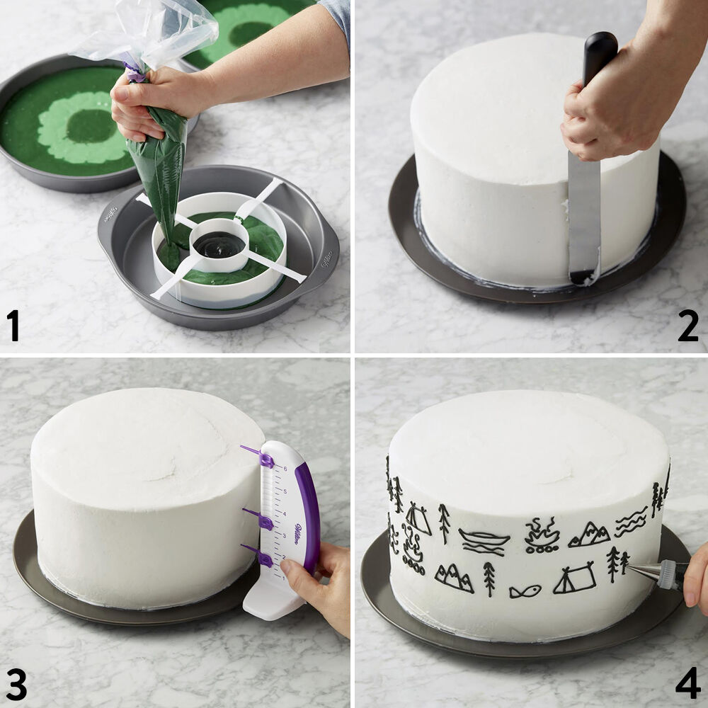Happy Fathers Day Cake Step-Outs : fathers day cake decorating ideas - www.pureclipart.com