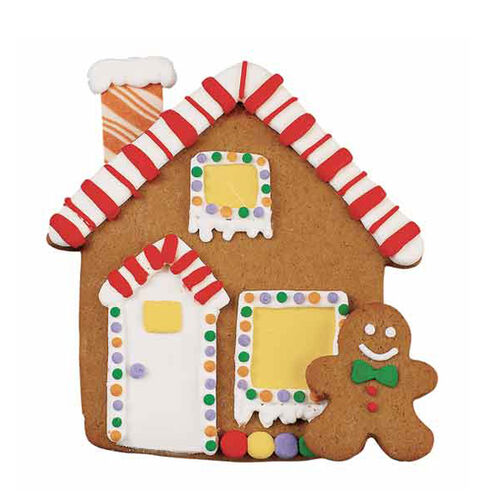 Happy Little House Gingerbread Cookies