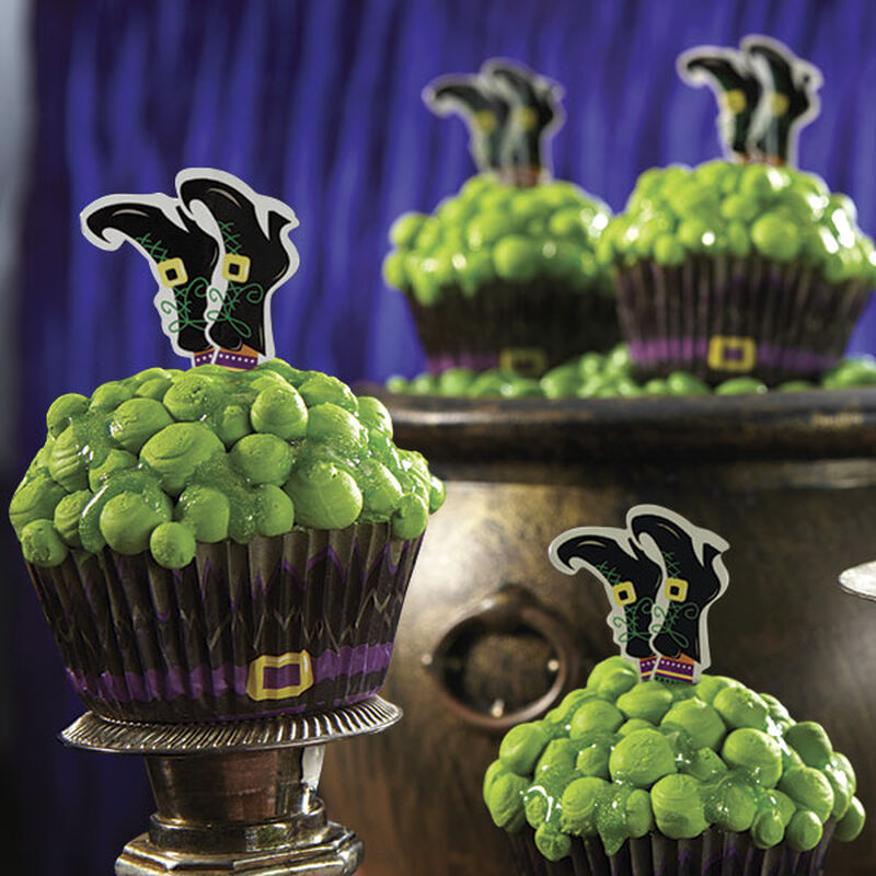 Halloween Witch Cupcakes image number 0