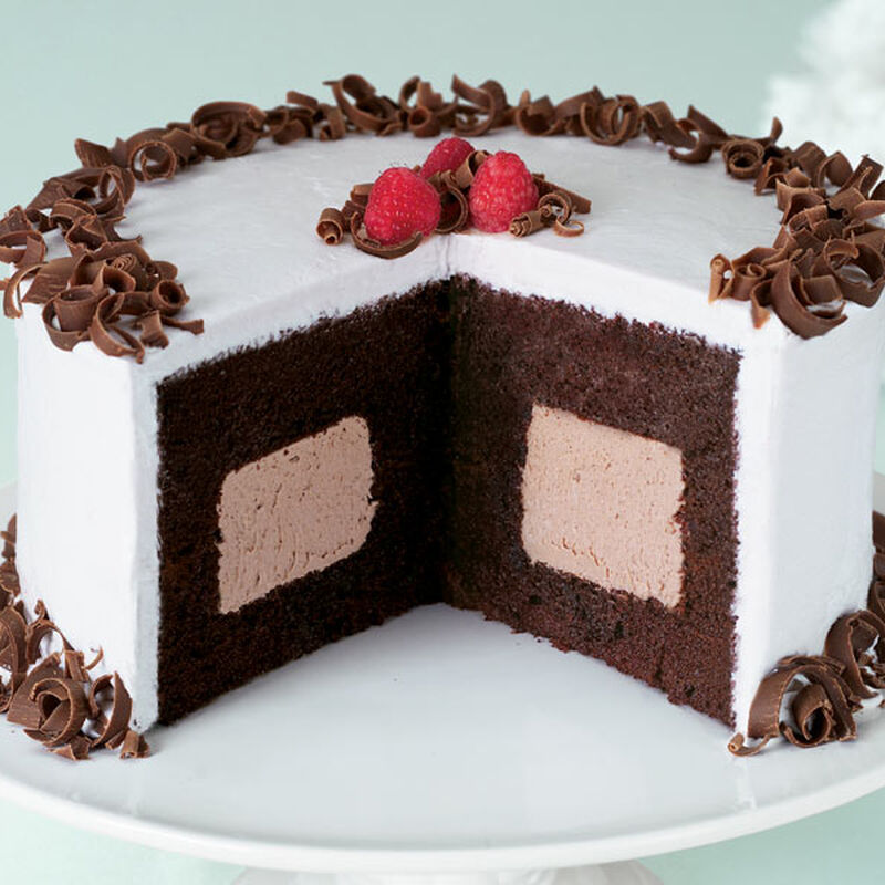 Mocha Magic Cake Recipe Wilton