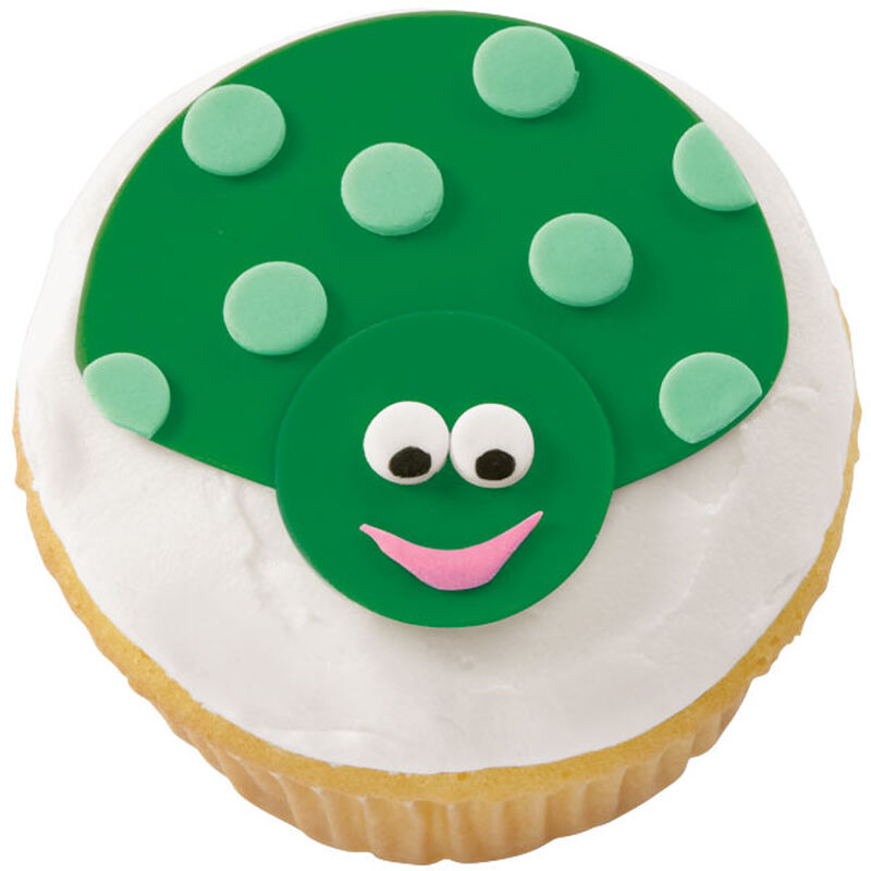Green with Envy Ladybug Cupcake image number 0