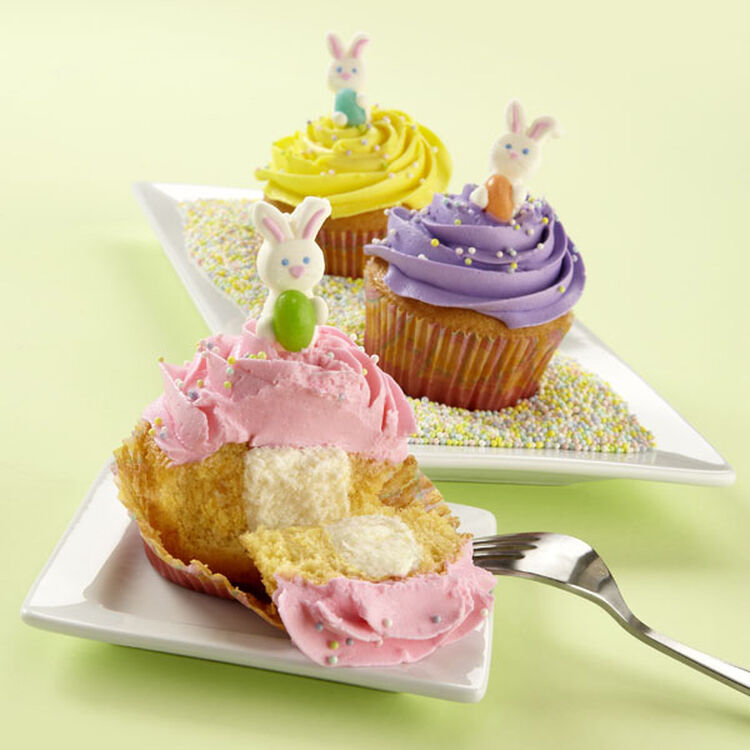 Marshmallow Filled Cupcakes