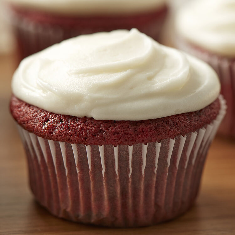 Easy Red Velvet Cupcakes with Cream Cheese Frosting Recipe