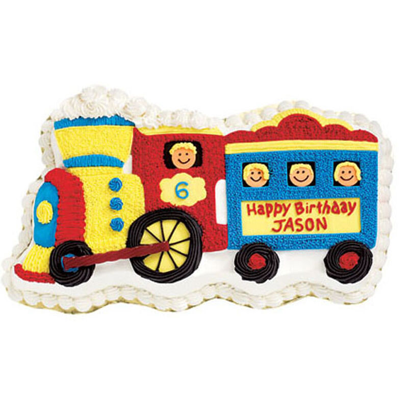 Train Cake image number 0