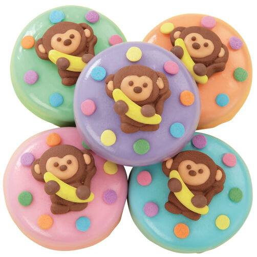 Bananas for You Baby Shower Cookies