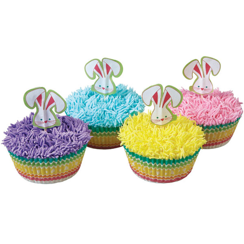 Pastel Cupcakes with Bunnies image number 0