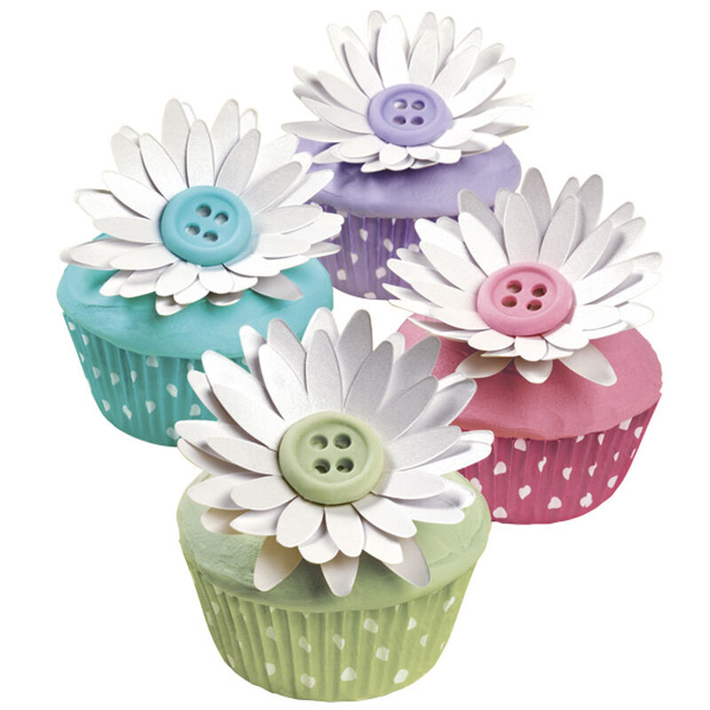 Buttoned Up Blossom Cupcakes image number 0