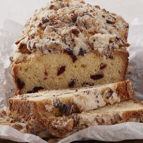 Cranberry Orange Pecan Loaf Recipe