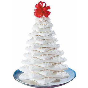 White Christmas Cookie Tree