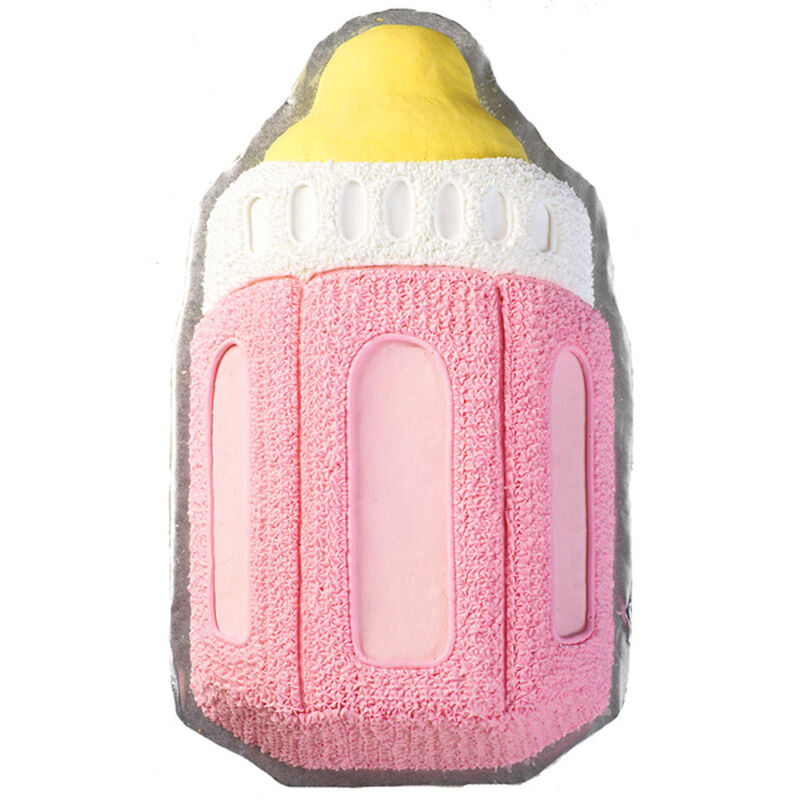 Girl's Baby Bottle Cake image number 0