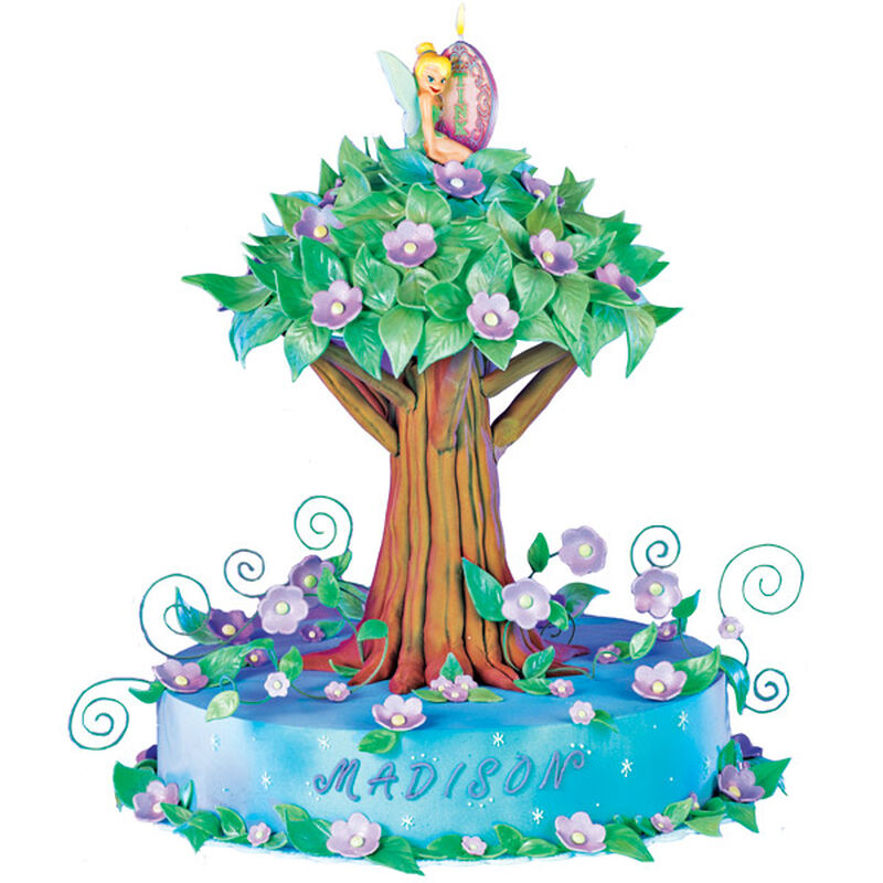 Prime Dreams Of Neverland Tinkerbell Birthday Cake Wilton Personalised Birthday Cards Cominlily Jamesorg