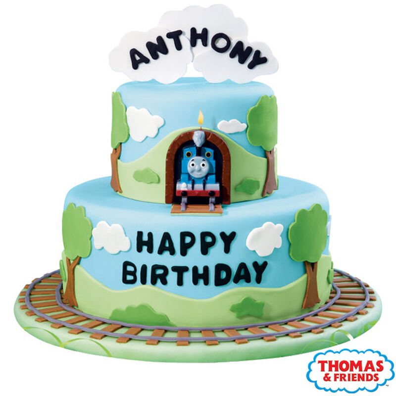 Thomas Is Right On Time Cake image number 0
