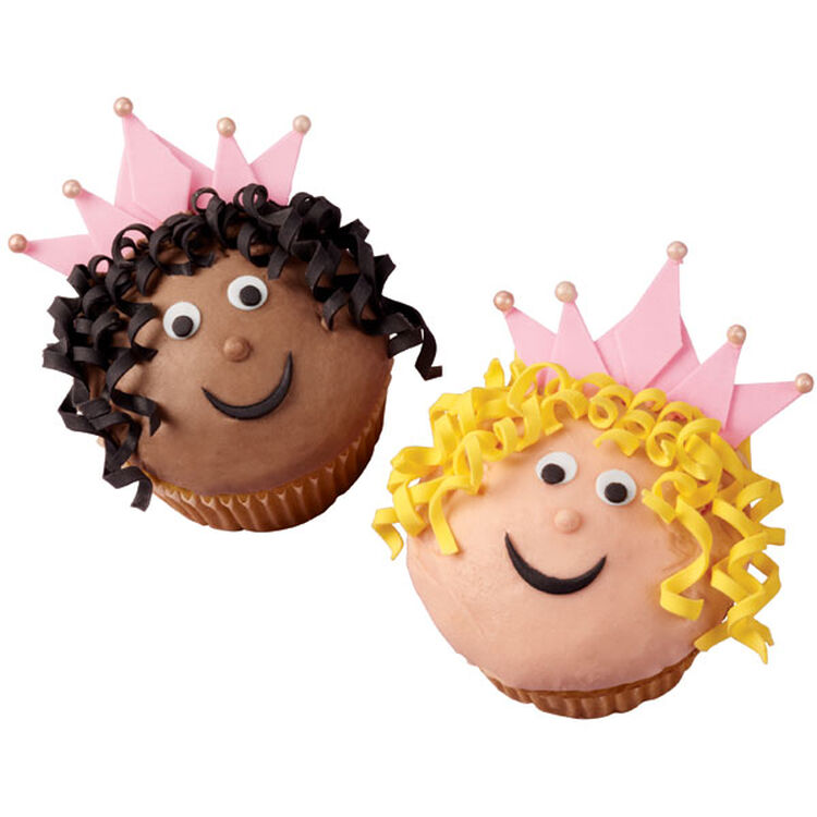 Cutely Crowned Cupcakes