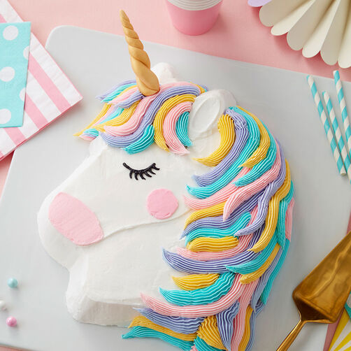 Images Rainbow Unicorn Cake