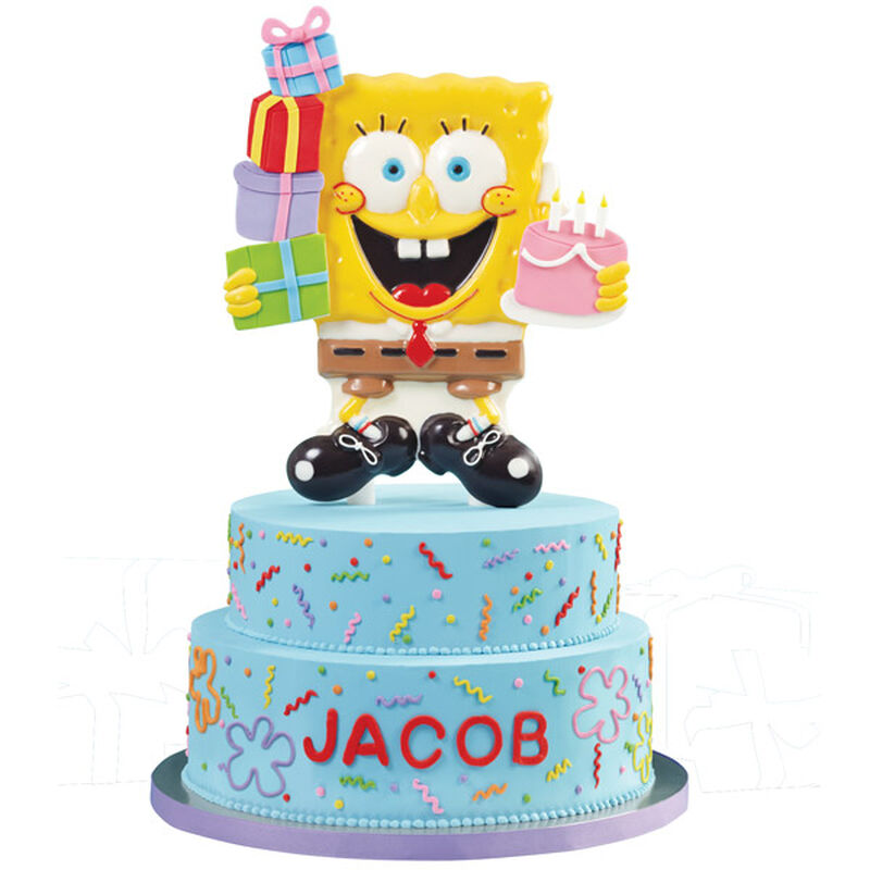 SpongeBob Life of the Party Cake image number 0