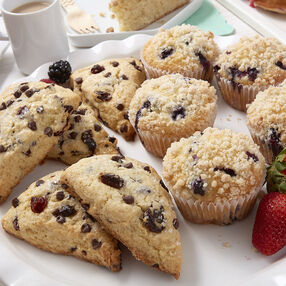 Cherry Chip Chocolate Scones Recipe