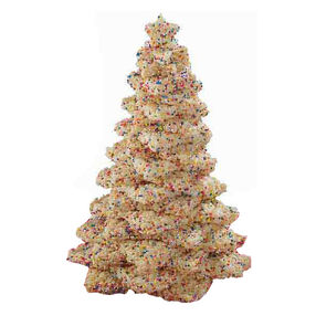 Crispy Cereal Star Tree