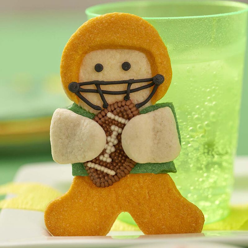 Wilton Gingerbread Boy Football Hero Cookies image number 2