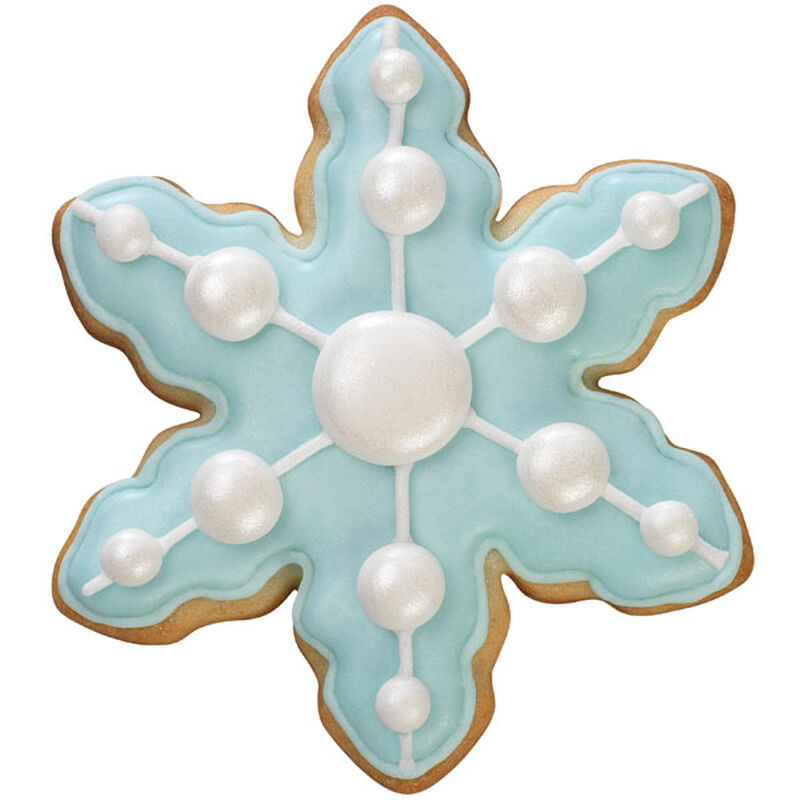 Stylish Snowflake Cookie image number 0