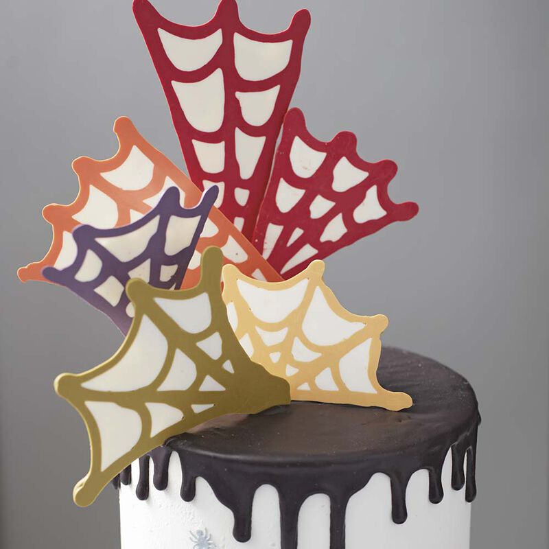 Spinfully Delicious Spider Web Cake image number 1