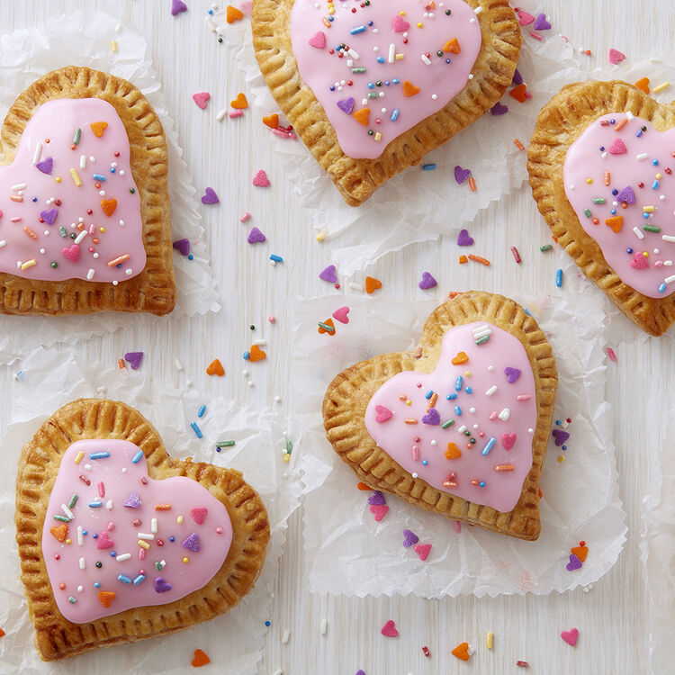 Heart Cherry Hand Pies