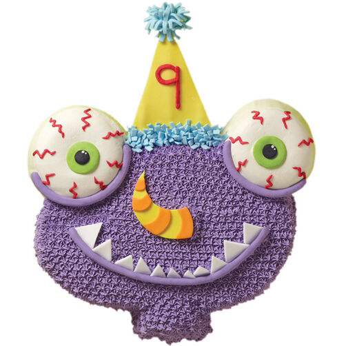 Mesmerized Monster Cake